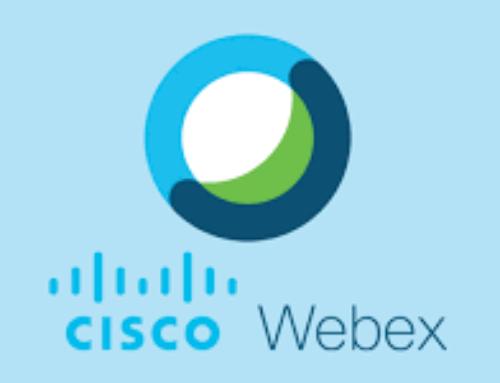 Οδηγίες εγκατάστασης του Webex Μeetings από τους εκπαιδευτικούς